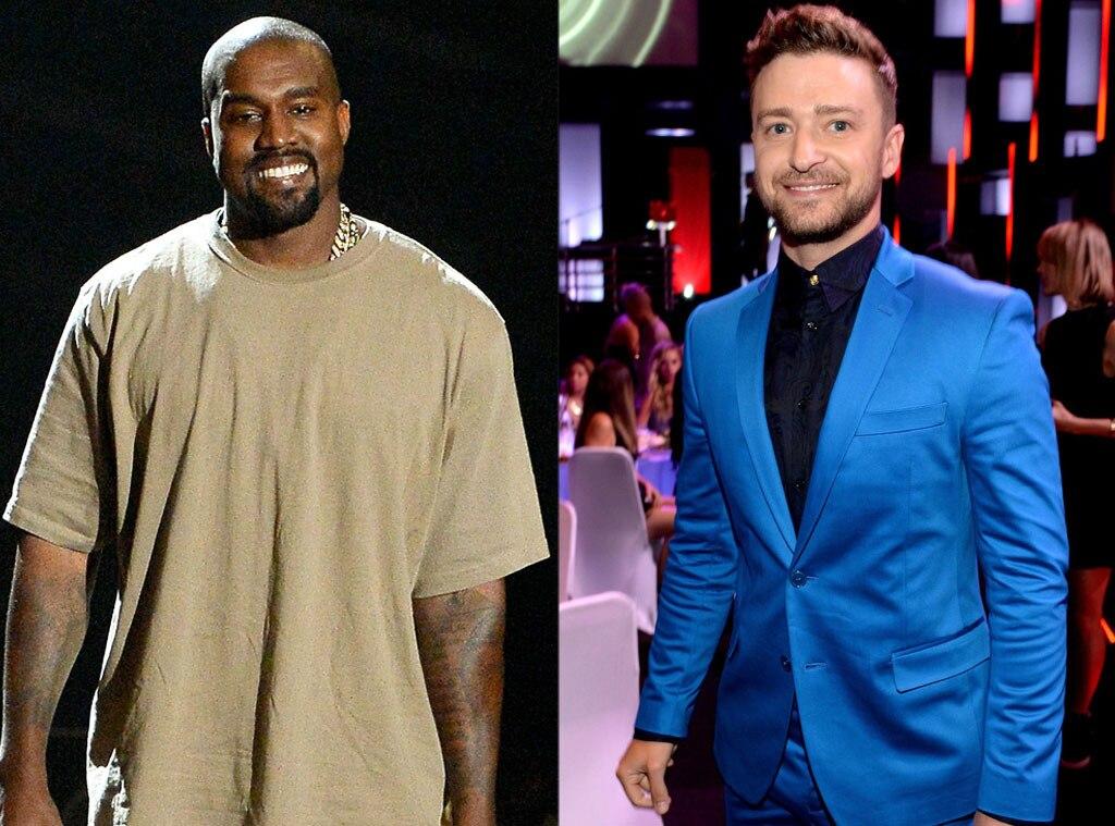 Justin Timberlake, Kanye West