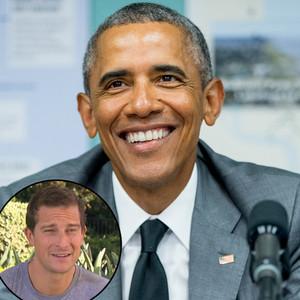 Barack Obama, Bear Grylls
