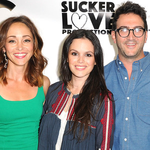 Autumn Reeser, Rachel Bilson, Josh Schwartz and Stephanie Savage