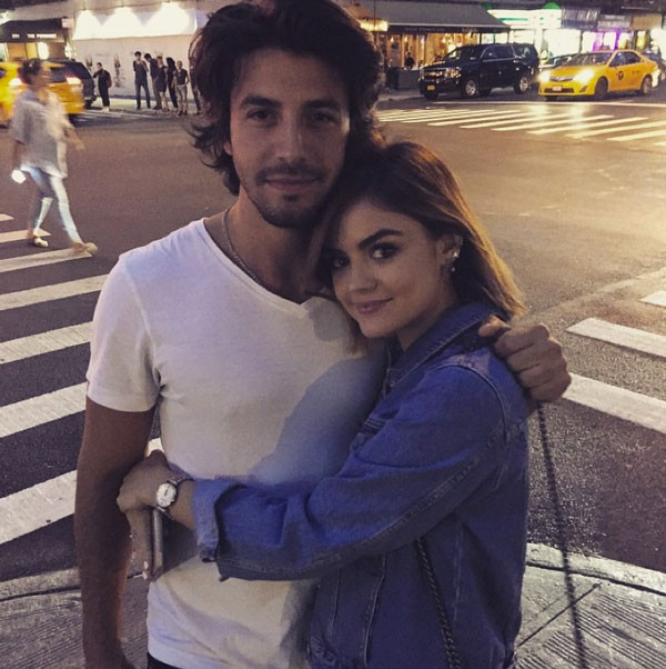 Lucy Hale, Anthony Kalabretta