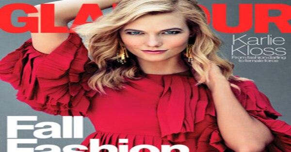 Karlie Kloss Fronts Both Glamour Amp Flare S September