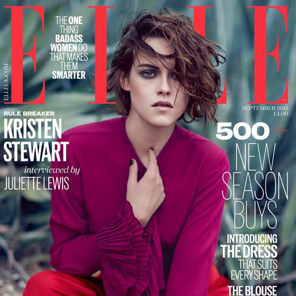 Kristen Stewart, Elle UK Magazine