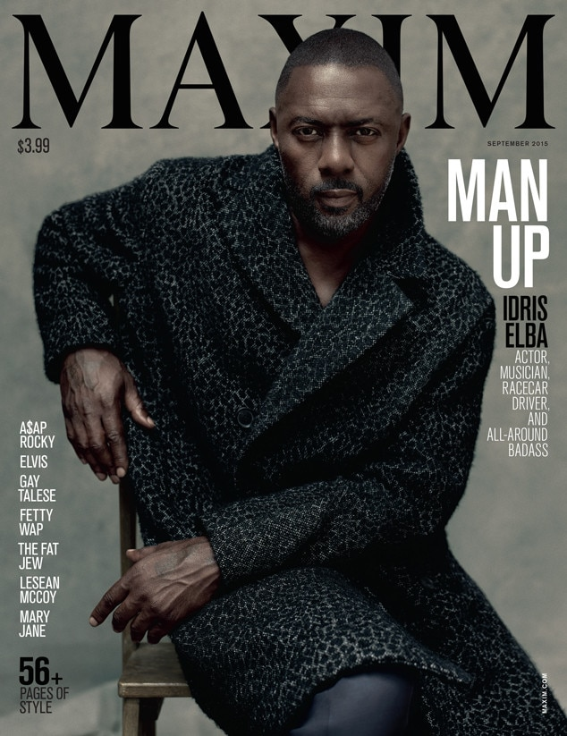 Idris Elba Is the First Man Ever to Cover Maxim—See the Historic ...