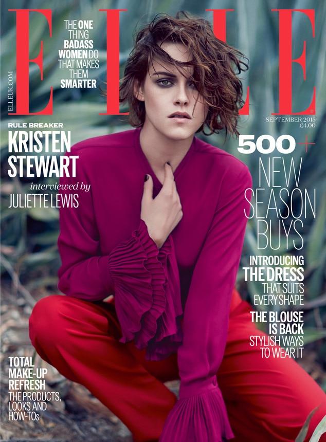 Kristen Stewart, Elle UK Magazine, September Cover
