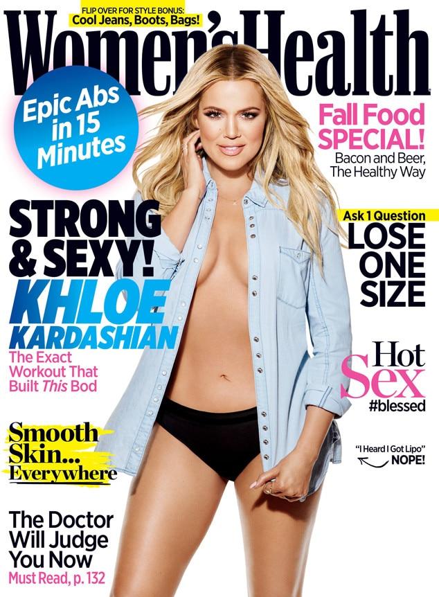 Khloe Kardashian, Women's Health