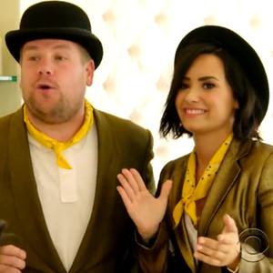 James Corden, Demi Lovato