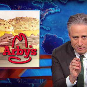 Jon Stewart and Arbys