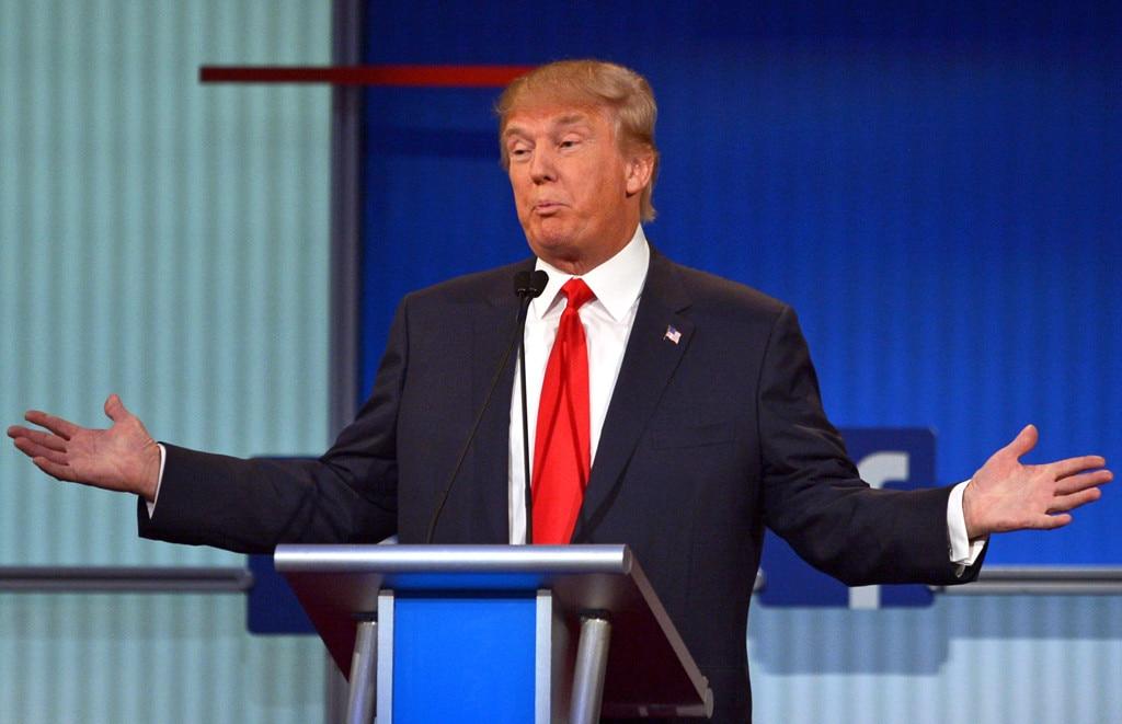 Donald Trump, GOP Debate