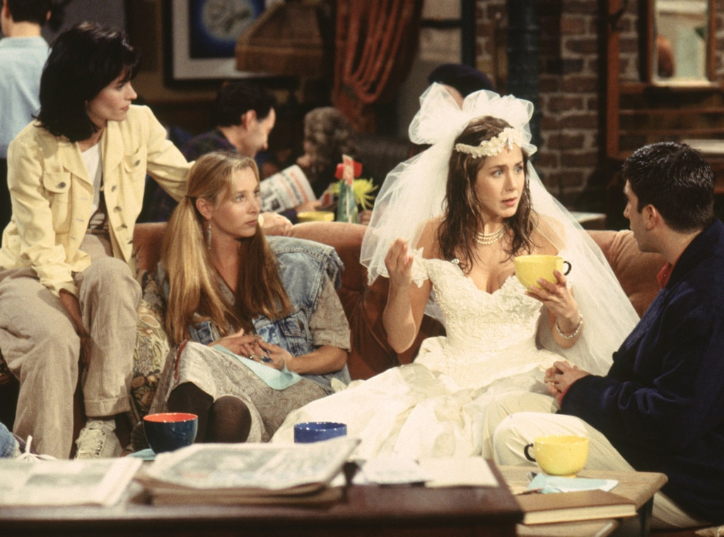 Jennifer Aniston, Friends,Wedding Dress