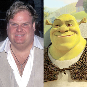 Chris Farley Voices <i>Shrek</i> in Newly Surfaced Clip, Late Comedian Originally Cast as Beloved Ogre