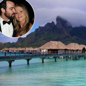 Justin Theroux, Jennifer Aniston, honeymoon