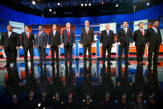 Canidates, GOP Debate