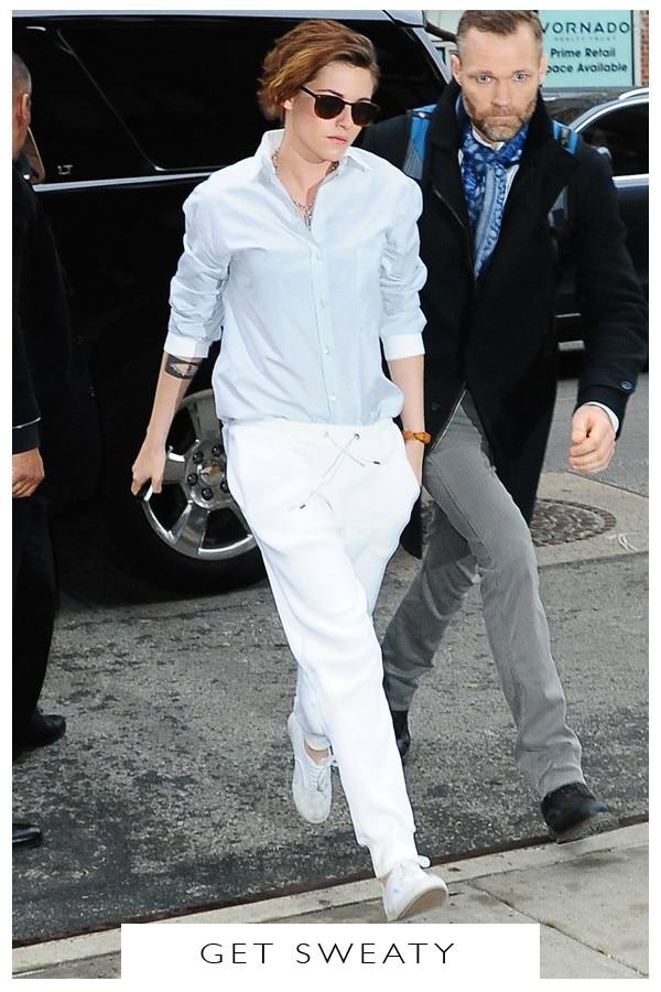 5 Days, 5 Ways: White Pants