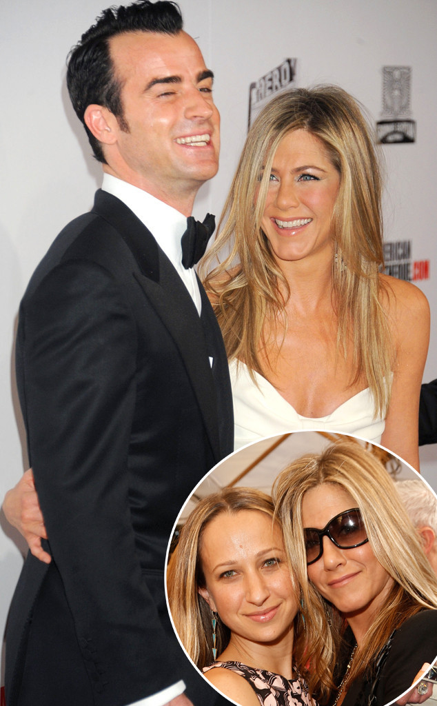 jennifer aniston and justin theroux wedding pictures