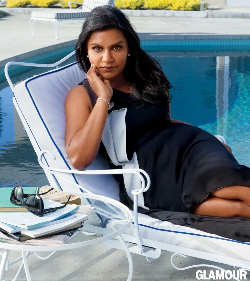 Mindy Kaling, Glamour Magazine