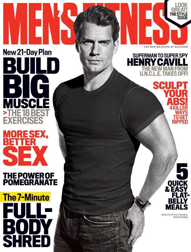 Henry Cavill, Men's Fitness Magazine