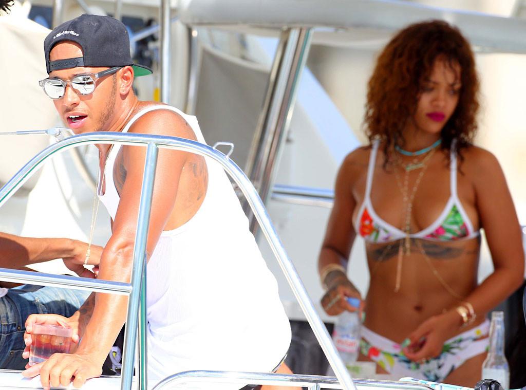 Rihanna, Lewis Hamilton