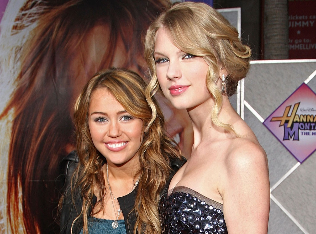Swift with miley cyrus