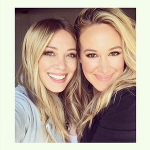 Haylie Duff, Hilary Duff, Instagram
