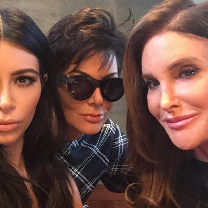 Kim Kardashian, Kris Jenner, Caitlyn Jenner, Instagram