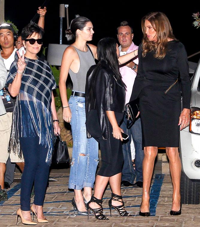 Kim Kardashian, Kris Jenner, Kendall Jenner, Caitlyn Jenner