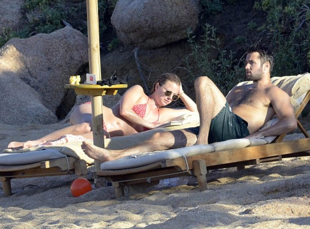 Emily VanCamp and Joshua Bowman Flaunt Impeccable Beach ...
