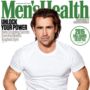 Colin Farrell, Men's Health