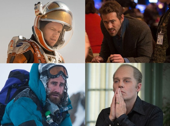 Jake Gyllenhaal, Everest, Matt Damon, The Martian, Johnny Depp, Black Mass, Ryan Reynolds, Mississippi Grind