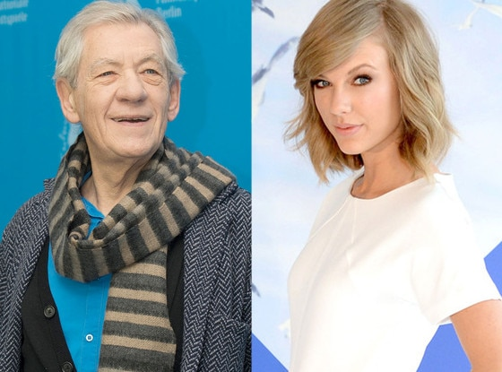 Ian Mckellen, Taylor Swift