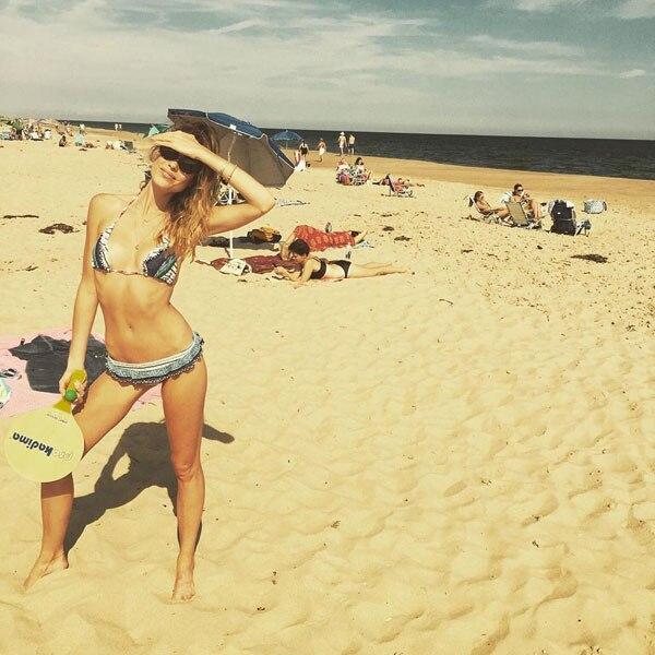 Genevieve Barker, Bikini