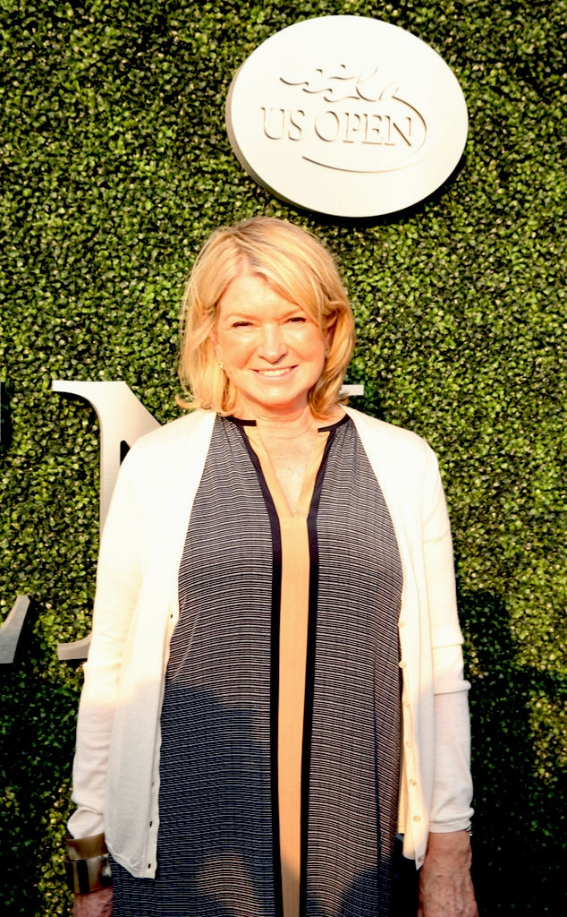 Martha Stewart, US Open