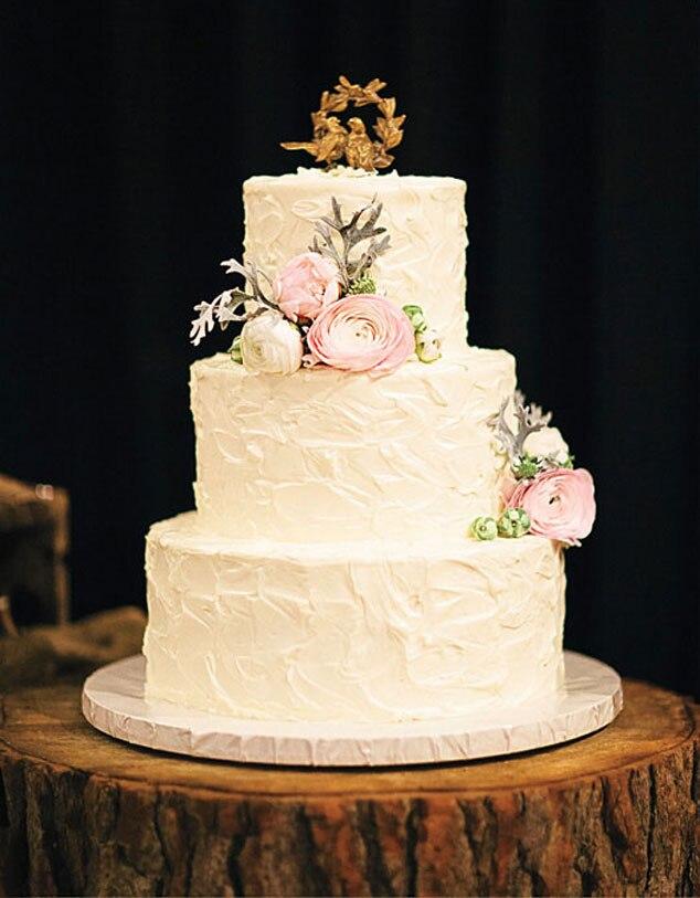 Brides Magazine, Ian Somerhalder, Nikki Reed, Cake