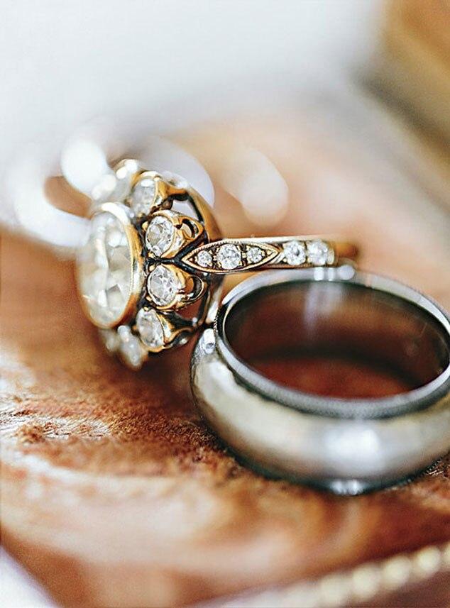 Brides Magazine, Ian Somerhalder, Nikki Reed, Rings