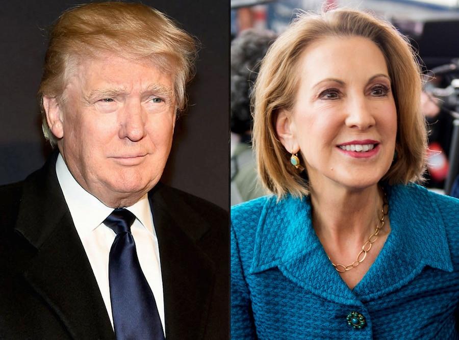 Donald Trump, Carly Fiorina