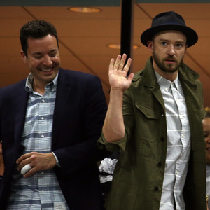 Jimmy Fallon, Justin Timberlake, US Open