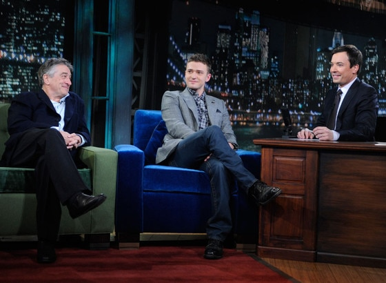 Robert DeNiro, Justin Timberlake, Jimmy Fallon