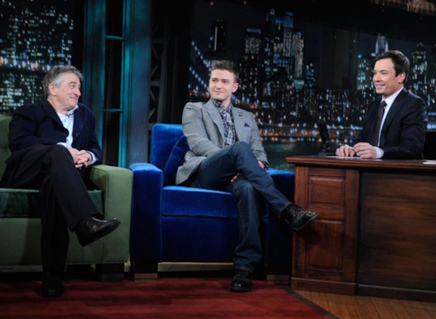 Robert DeNiro, Justin Timberlake, Jimmy Fallon