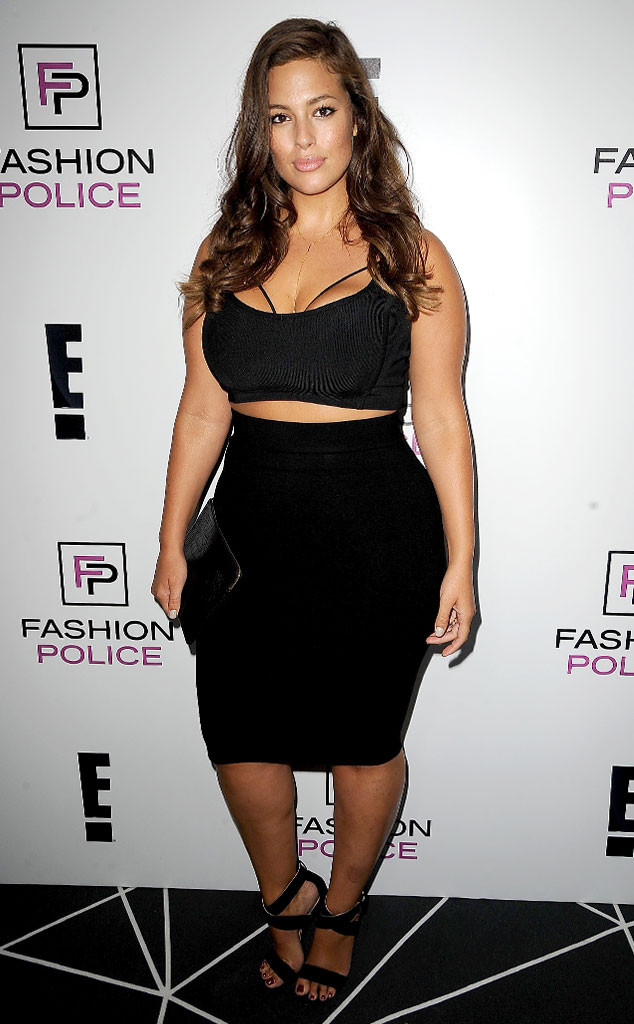 Ashley Graham, E!s 2016 Spring NYFW Kick Off Party