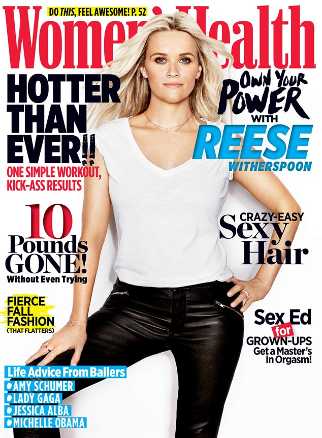 Reese Witherspoon, Women's Health