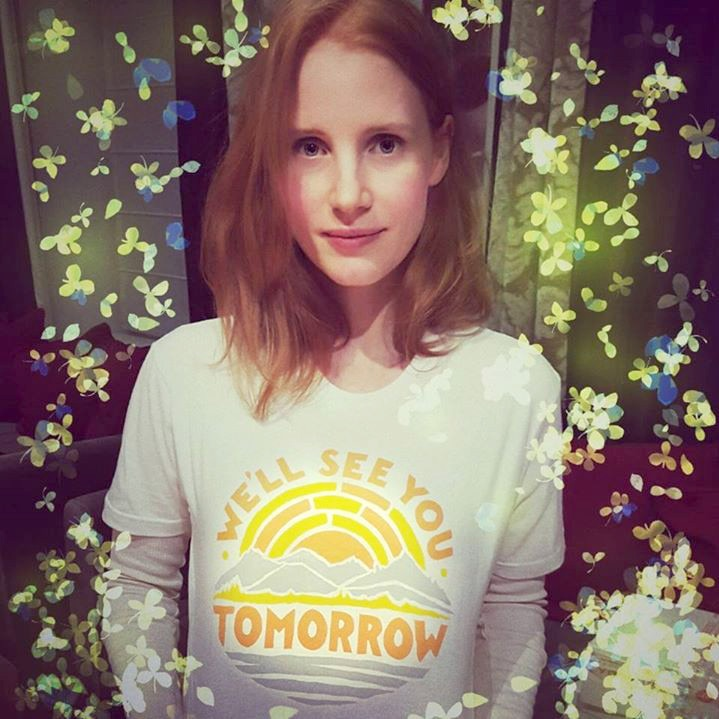 Jessica Chastain, Facebook
