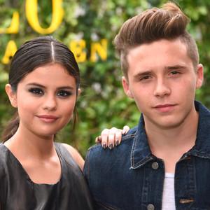 Selena Gomez, Brooklyn Beckham