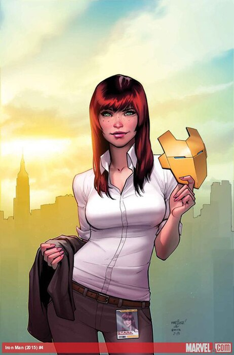 Mary Jane, New Iron Man, Marvel