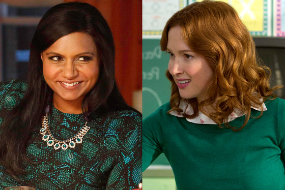 Mindy Kaling, The Mindy Project, Ellie Kemper, Unbreakable Kimmy Schmidt