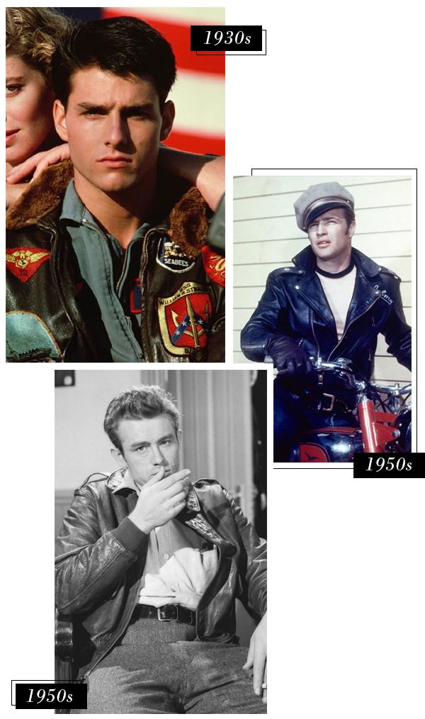 ESC, History of Leather Jackets