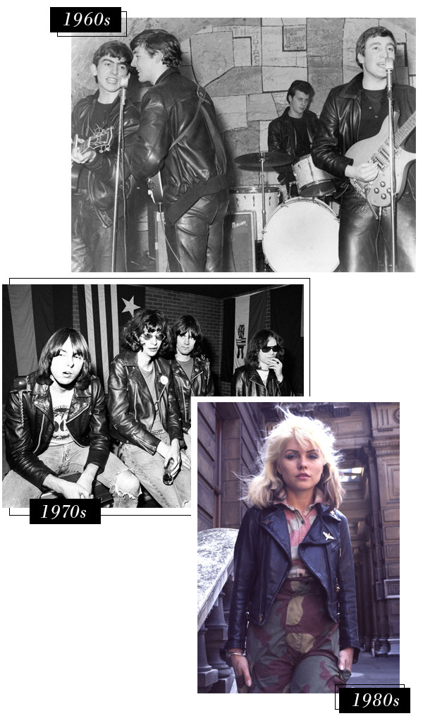 A Brief History of How the Leather Jacket Went From ...