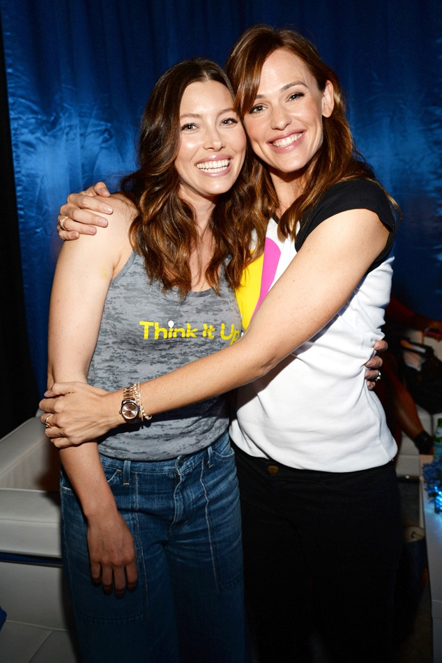 Jessica Biel, Jennifer Garner, Think it Up