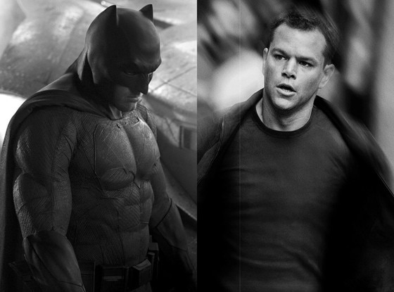 Ben Affleck, Batman, Matt Damon, The Bourne Identity