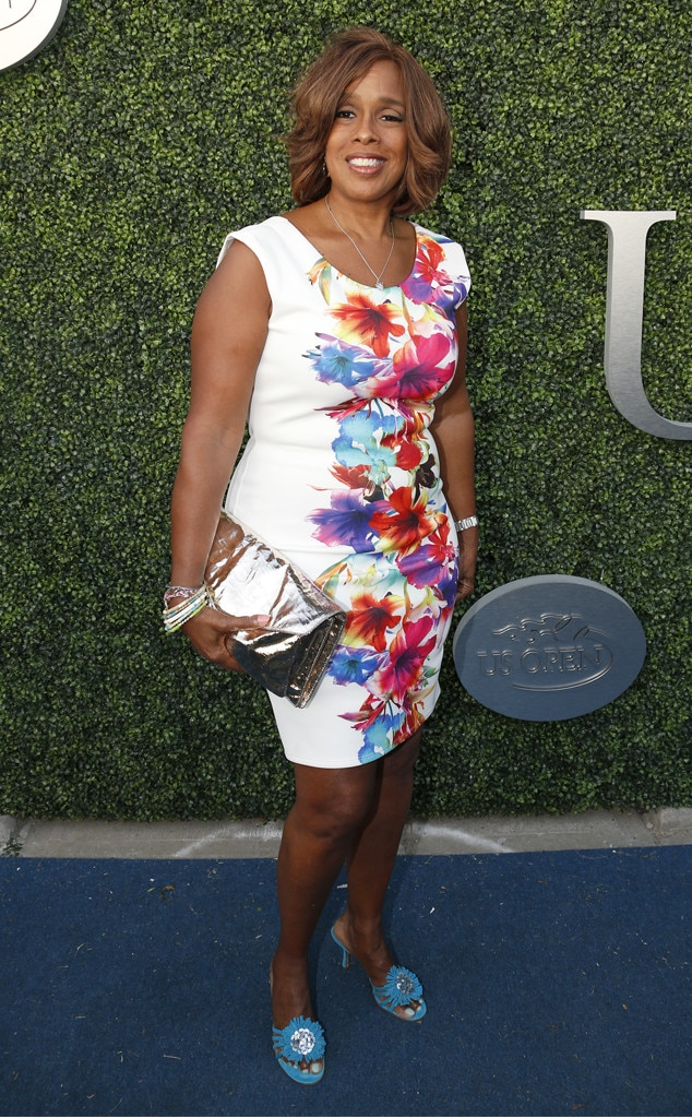 Gayle King, US Open