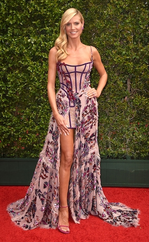 Heidi Klum, 2015 Creative Arts Emmy Awards