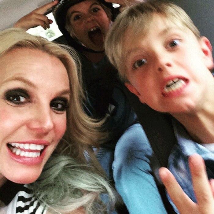 Britney Spears, Instagram